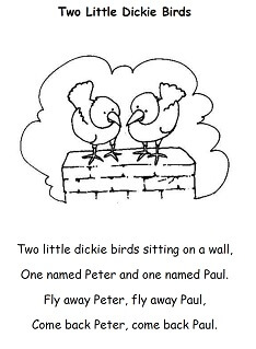 maths rhymes for junior infants scoil bhride ns