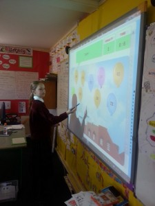 Maths on the Interactive Whiteboard